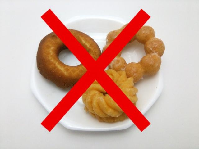 運動なしで痩せたいあなた!!食事を減らせますか?