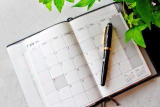 カレンダーとは違う理由!?手帳が月曜始まりなのはなぜ?